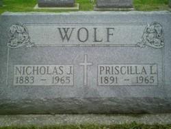 Priscilla Bridget <i>Langan</i> Wolf