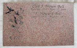 Cleo J <i>Brown</i> Bell
