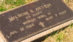 Milton Earl Tut Acton