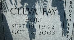 Cleva Fay <i>Holt</i> Bingham
