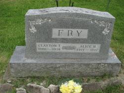 Alice Hazel <i>Fry</i> Fry