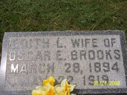 Edith Leona <i>Dye</i> Brooks