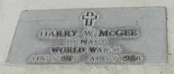Harry W McGee