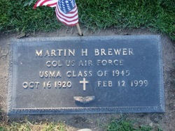 Col Martin H Brewer