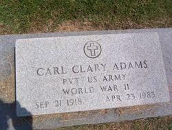 Carl Clary Adams