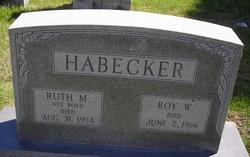 Ruth M <i>Boyd</i> Habecker