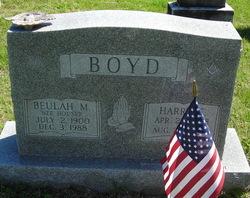 Beulah M <i>Houser</i> Boyd