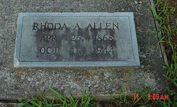 Rhoda A. <i>Carpenter</i> Allen