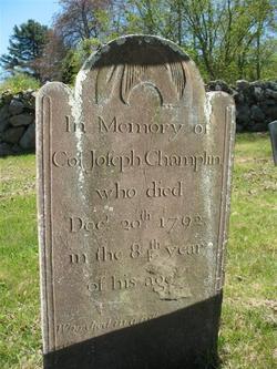 Col Joseph Champlin