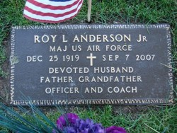 Maj Roy L. Anderson, Jr