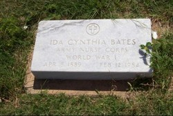 Ida Cynthia <i>Massey</i> Bates