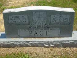 Alton P Page