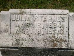 Julia <i>Taylor</i> Starnes