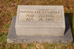 Minnie Lee <i>Atkinson</i> Culipher
