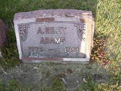 A. Riley Adams