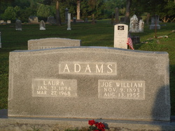 Laura <i>James</i> Adams