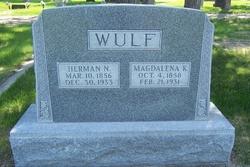 Katherine Magdalena <i>Claussen</i> Wulf