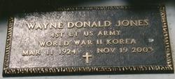 Wayne Donald Jones