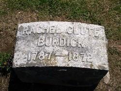 Rachel <i>Clute</i> Burdick