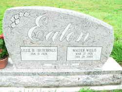 Walter Willis Bud Eaton