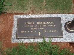 LeRoy Roy Defibaugh