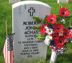 LCpl Robert John Bob Achas