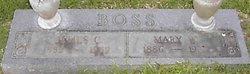 Mary Will <i>Maroney</i> Boss