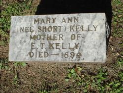 Mary Ann <i>Short</i> Kelly