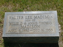 Walter Lee Madison