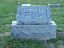 Anna S. <i>Buchholz</i> Blaske