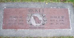 Pearl Bessie <i>Cadman</i> Mc Kee