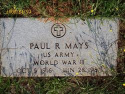 Paul Ray Mays