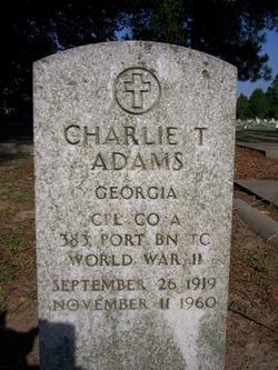 Charlie T. Adams