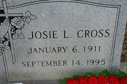 Josie L. <i>Burks</i> Cross