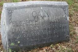 Elizabeth Cain