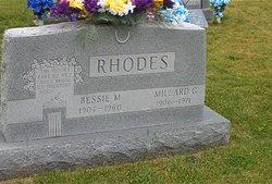 Millard G Rhodes