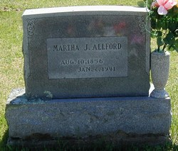 Martha Jane <i>Lee</i> Allford