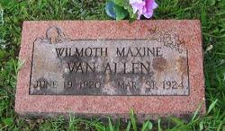 Wilmoth Maxine Van Allen