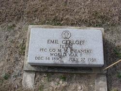 Pvt Emil Gerloff