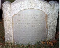 Maj William Bradford, IV