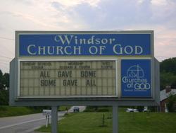 Windsor Church of God Cemetery