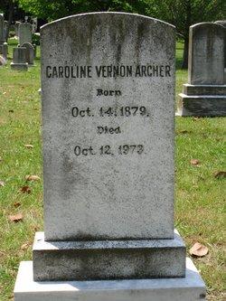 Caroline Vernon Archer