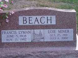 Loie Rebecca <i>Miner</i> Beach