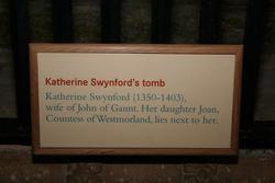 Katherine <i>Roet</i> Swynford