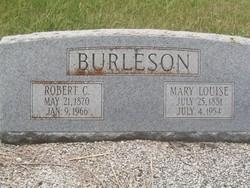 Robert C Burleson