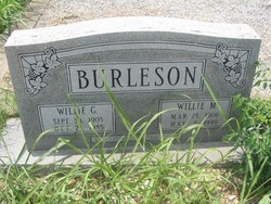 Willie Gaston Burleson