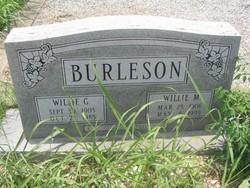 Willie Mae <i>Hardeman</i> Burleson