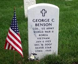 Col George C Benson