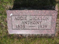 Addie <i>Dickson</i> Anthony