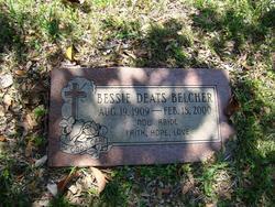 Bessie <i>Deats</i> Belcher